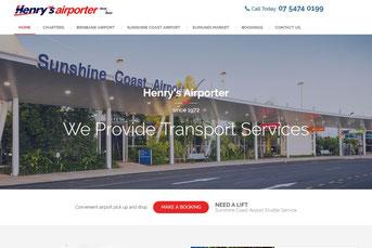 Henry's Airporter ウェブサイト