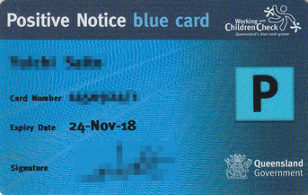 Blue Card - Paid (P)