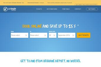 Airtrainウェブサイト