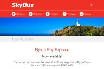 SkyBus 公式サイト