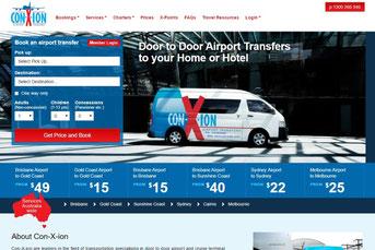 Suncoast Cabs ウェブサイト