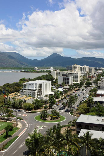 Roundabout in Cairns