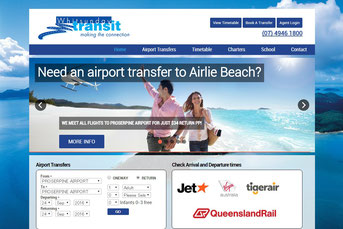 Whitsunday Transit ウェブサイト