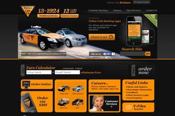 Yellow Cab ウェブサイト