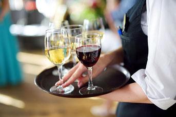 アルコール飲料を扱う仕事