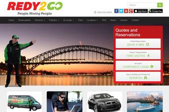 Ready2Go ウェブサイト