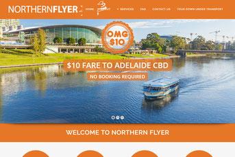 Northern Flyer ウェブサイト
