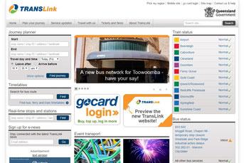 Trans Link ウェブサイト