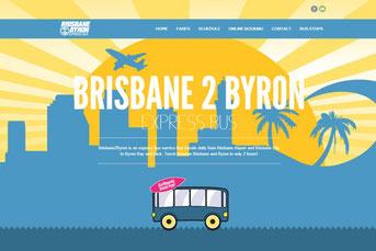 Brisbane 2 Byron ウェブサイト