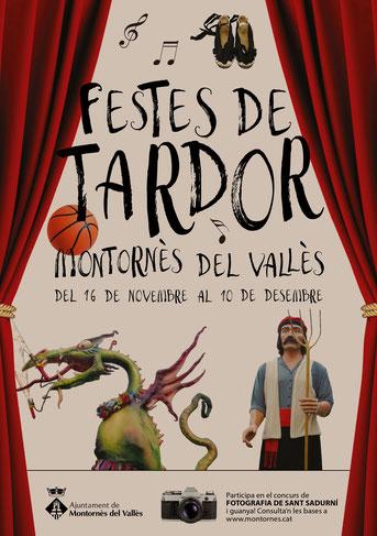 Programa de las Festes de Tardor en Montornès del Vallès