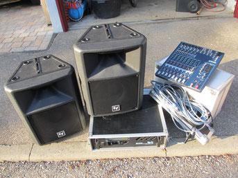 Komplette Musikanlage mieten
