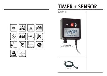 Timer Hell-  Dunkelsensor - Techmar Garden Lights - LightPro 12V Gartenbeleuchtung Bedienungsanleitung