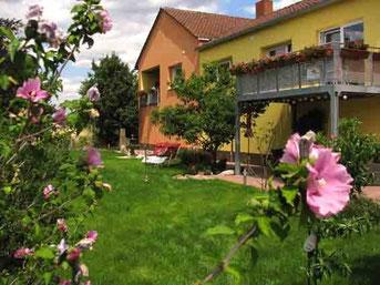 Garten Ferienwohnngen Ferienhof am Rebgarten Bad Dürkheim