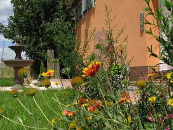 Garten Ferienwohnungen Ferienhof am Rebgaten Bad Dürkheim