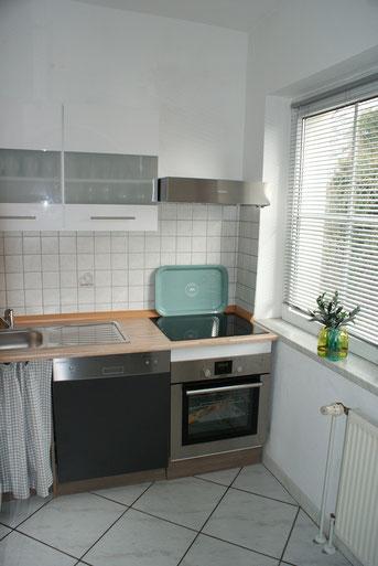 Die Küche ist natürlich voll ausgestattet