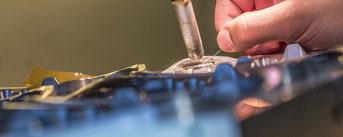 Reparaturschweissen Tiefziehform