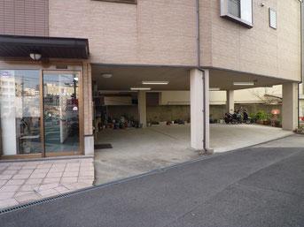 枚方市の久保鍼灸整骨院(西禁野院)の駐車場
