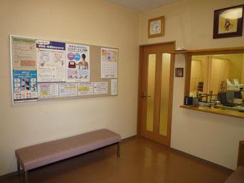 枚方市の久保鍼灸整骨院(西禁野院)の待合室