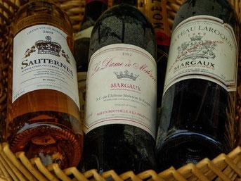 Vins prestigieux de Bordeaux