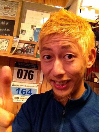 今日から金髪です!!(笑)