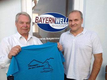 Bernd Nitschke und Michael Inneberger