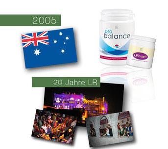 La voie du succès en 2005 dans le secteur Santé et Beauté avec LR Health & Beauty Systems et ses 20 ans!