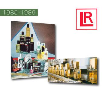 La voie du succès de 1985 à 1989 dans le secteur Santé et Beauté avec LR Health & Beauty Systems et ses 20 ans!