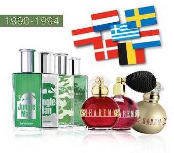 La voie du succès en 1990 à 1994 dans le secteur Santé et Beauté avec LR Health & Beauty Systems et ses 20 ans!