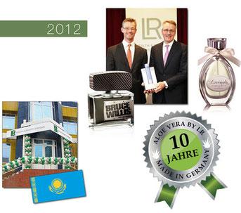 La voie du succès dans le secteur Santé et Beauté avec LR Health & Beauty Systems 2012