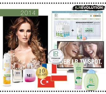 La voie du succès dans le secteur Santé et Beauté avec LR Health & Beauty Systems 2014
