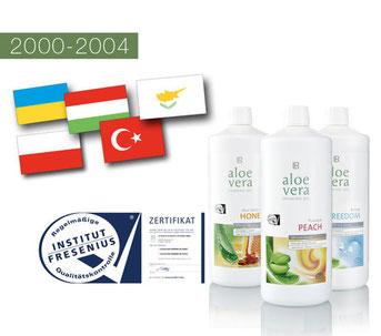 La voie du succès en 2000 dans le secteur Santé et Beauté avec LR Health & Beauty Systems et ses 20 ans!