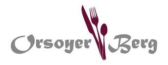 Im Rahmen der Internetseiten Gestaltung wurde das Logo des Restaurants Orsoyer Berg überarbeitet.