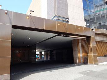 川崎 ホテル Jクラブ 駐車場入り口