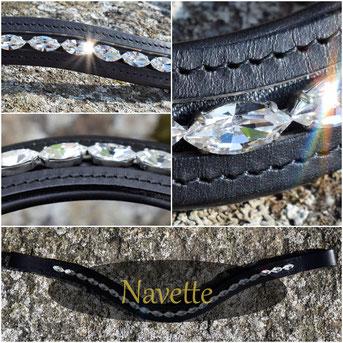 Navette 15x7mm Swarovksi Xilion 4228 Preciosa MC Navette Maxima