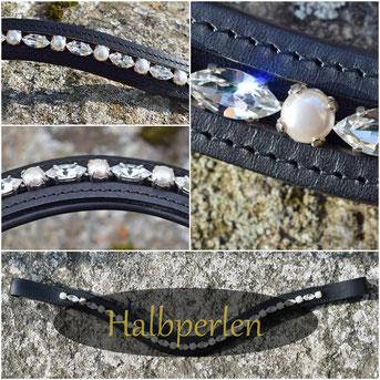 Halbperlen Swarovski Crystal Pearl 5817 Preciosa Nacre Pearl
