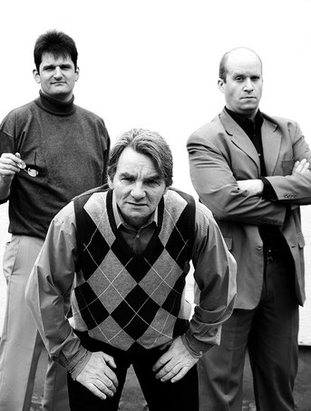 Ulf Griese, Karl Hartmann, Marc Gruss, Foto: Sina Weber