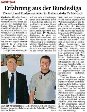 Artikel im Miesbacher Merkur am 22.12.2014 - Zum Vergrößern Klicken
