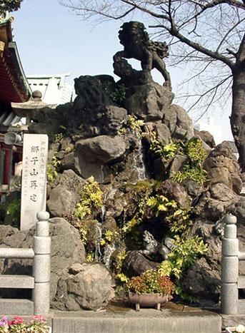 神田神社(神田明神) 獅子山