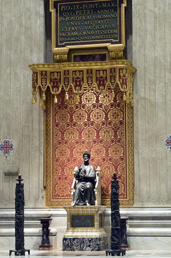 Der Petersdom (Basilica di S.Pietro)