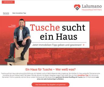 Lalumano Jimdo Webseite
