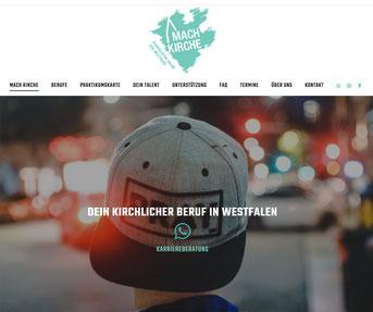 Machkirche Jimdo Webseite