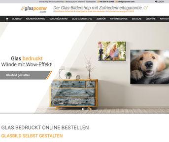 glasposter.com – Jimdo Online-Shop