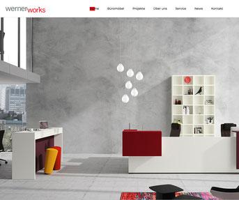 werner works Jimdo Webseite