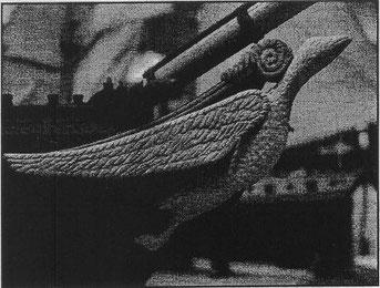 中園さん ル ・シーニュの船首像