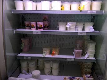 frische Milch-, Joghurt- und Quarkerzeugnisse