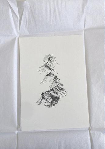 © 180°, Fineartprint auf Hahnemühle, A4, Auflage 20 Stk, Bimo 2020