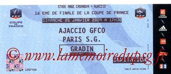 2009-01-25  Gazelec Ajaccio-PSG (16ème Finale CF)