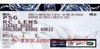 2011-01-08  PSG-Lens (32ème Finale CF)