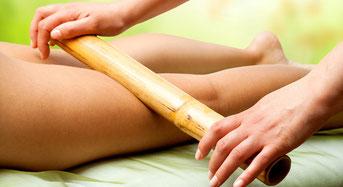 IZA bien-être esthéticienne ares Massage bambou