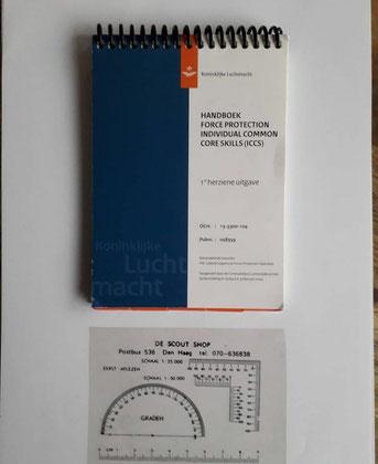 KLU Luchtmacht instructiekaarten.